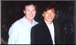 John Fox with Jackie Chan